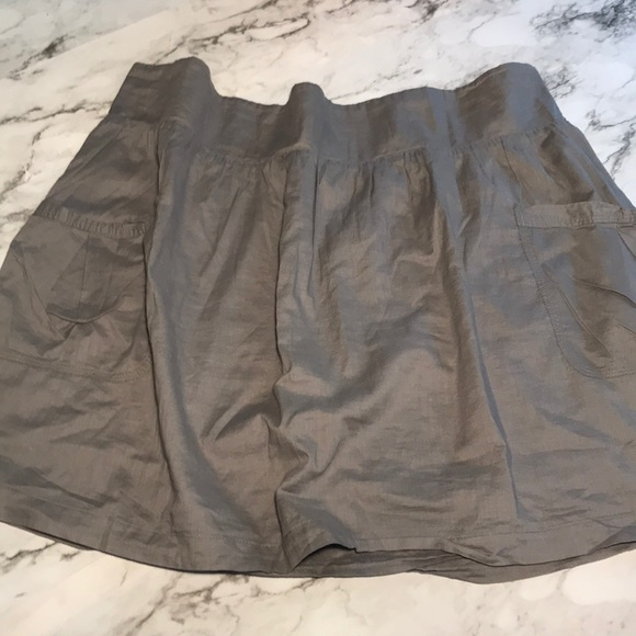 Old Navy Dresses & Skirts - Old Navy Gray Cotton Mini Skirt size Xl